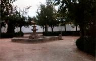 Foto de la fuente del Mirador en Mayorga