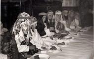 Celebración de la Pasión en Mayorga 1960
