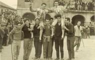 Foto de Toreros a hombros en Mayorga