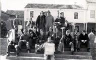 Foto de los Quintos del 77 en Mayorga