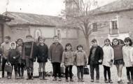 Foto de niños en la escuela de Mayorga