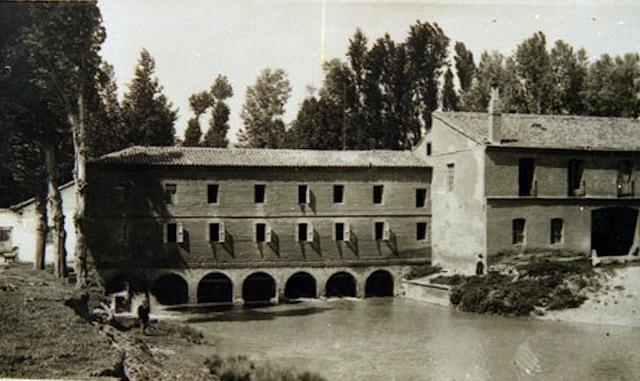 Foto de la fábrica de harinas de Mayorga