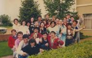 Foto de los Quintos de Mayorga del 88 y 89