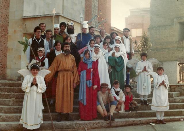 Foto del Belén Viviente de Mayorga 1983