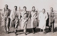 Foto de amigos en Mayorga en 1952