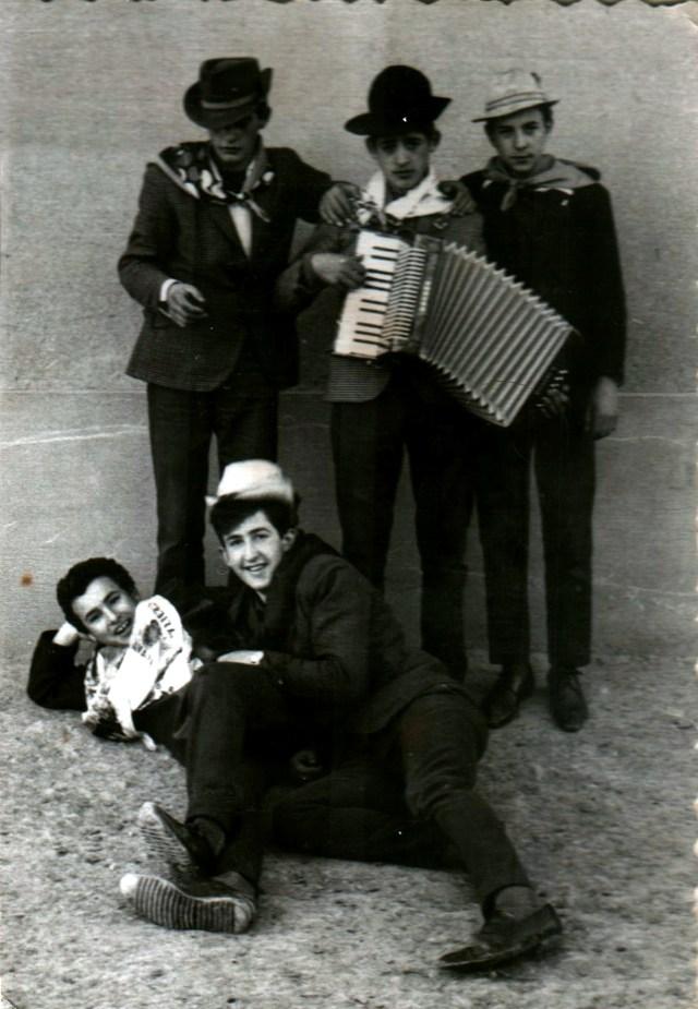Foto de grupo celebrando San Blas en Mayorga