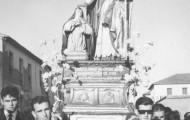 Foto de la procesión de Santo Toribio en las fiestas de Mayorga