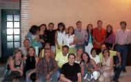 Foto de los quintos de 1986 en 2006 de Mayorga