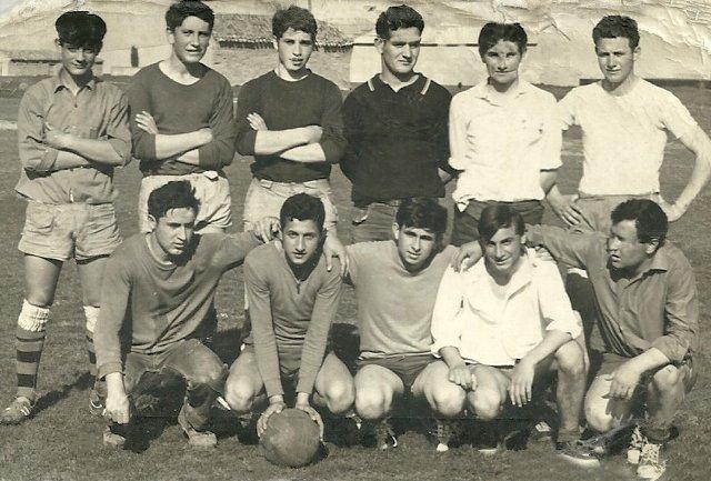Foto de un equipo de fútbol de Mayorga en 1962