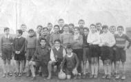 Foto de un equipo de fútbol de Mayorga 1958