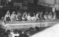 Foto de la representación de la pasión en Mayorga 1960