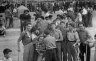 Foto de las fiestas de Mayorga en 1955