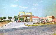 Foto de la gasolinera de Mayorga en 1982