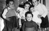 Foto de los hermanos Trigueros Rodriguez en 1958