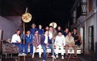 Foto de los integrantes de la peña la Boina de Mayorga 1994