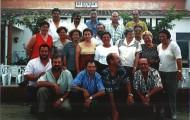 Foto de la celebración de una comida de los nacidos en 1951 en 1997