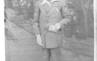 Foto de la Comunión de Santiago Rueda en 1952