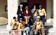 Foto de los integrantes de la Peña el Ruedo de Mayorga en 1980