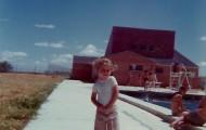 Foto de la piscina de Mayorga en 1974