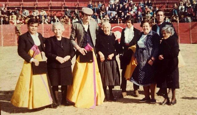 Foto de un festival taurino en Mayorga