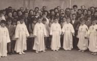 Foto de las comuniones de Mayorga en 1961