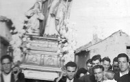 Foto en la procesión de Santo Toribio en Mayorga
