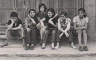 Foto de amigas en Mayorga 1970