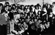 Foto de gente en Mayorga en 1970