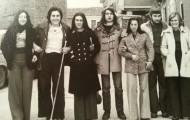 Foto de los quintos de Mayorga de 1975