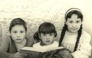 Alumnos escuela Mayorga 1967