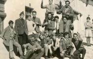 Foto de los quintos de Mayorga de 1968
