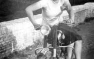 Isabel Lera Redondo carretera Mayorga 1955