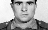 Luis Trigueros retrato servicio militar 1969