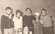 Foto de Nochevieja en Mayorga 1971