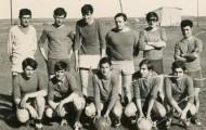 Foto de un equipo fútbol Mayorga 1971