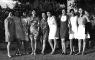 Foto de amigas en el Mirador de Mayorga 1968