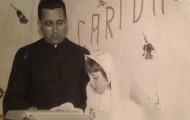 Foto de la Comunión de Maria Angélica Moro 1969