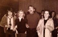 Foto de Amigos en Mayorga 1977