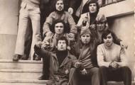 Foto de los quintos de 1973 de Mayorga