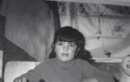 Foto de Juana María Lera en la escuela de Mayorga 1970