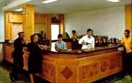 Foto del interior del restaurante Santa Ana de Mayorga 1982