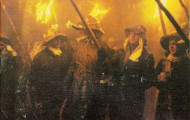 Portada programa fiestas Mayorga 2001
