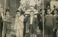Foto de la Procesión del Niño en Mayorga 1957