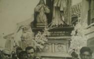 Foto de la procesión de Santo Toribio en Mayorga 1964
