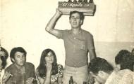 Foto de los del Silencio de Mayorga en 1973