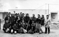 Foto de todos los quintos de Mayorga en 1972