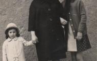 Lola Perez, Lolita y Carmen 1964 en Mayorga