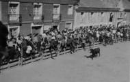 Plaza de toros de Mayorga 1950