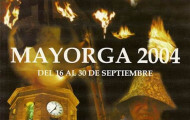 Portada programa fiestas Mayorga 2004