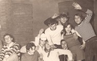 Nochevieja en Mayorga 1971